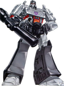 Reminder, Michael Bay:  The real Megatron turns in to a gun.  Not a tank.