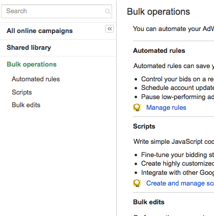 adwords bulk operations