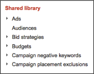 Image of AdWords Shared Library
