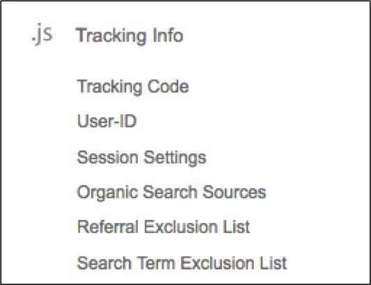 Tracking Code Google Analytics