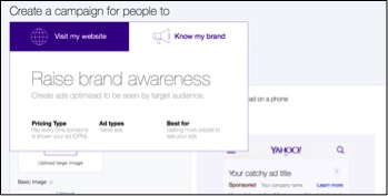 Image of brand awareness campaign