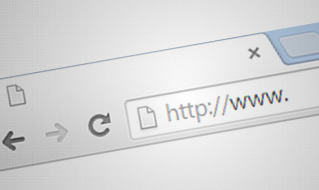 Image of a URL