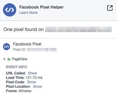 A good pixel page view reporting status